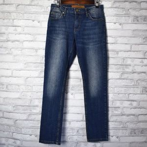 JOE'S JEANS Mid Rise Skinny Ankle Denim Size 28